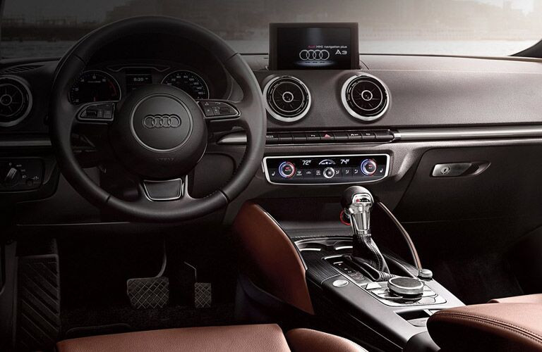 Audi A3 center console