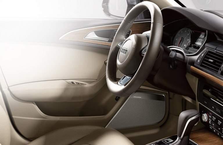 2017 Audi A6 front interior