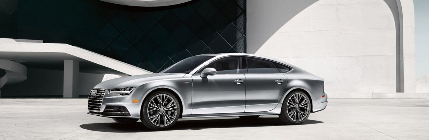 Used Audi A7 silver model