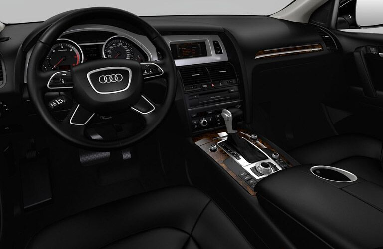2016 Audi Q7 Steering Wheel, Dashboard and Infotainment System