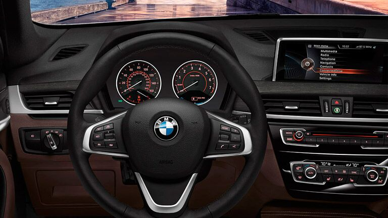 Used BMW X1 interior dashboard