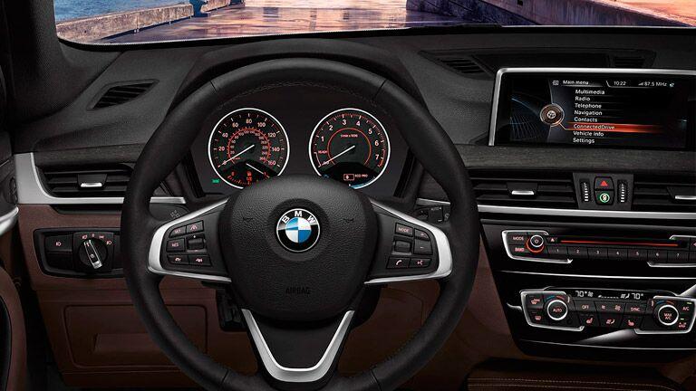 Used BMW X1 interior dashboard