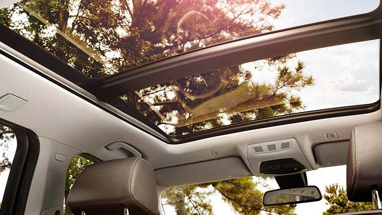 Used BMW X3 sun roof