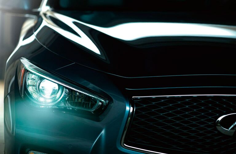Used Infiniti Q50 front view