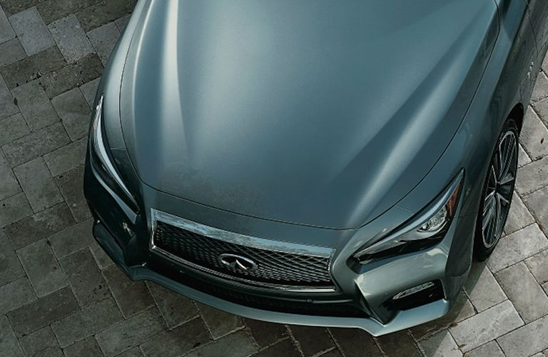 Used Infiniti Q50 top view