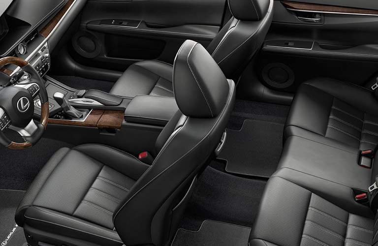 Overhead View of 2016 Lexus ES Interior