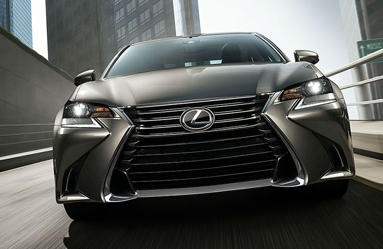 Gray Lexus model front view