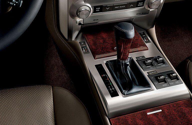 Used Lexus GX center console