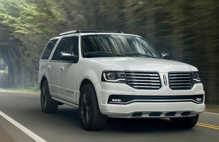 Used Lincoln Navigator front view