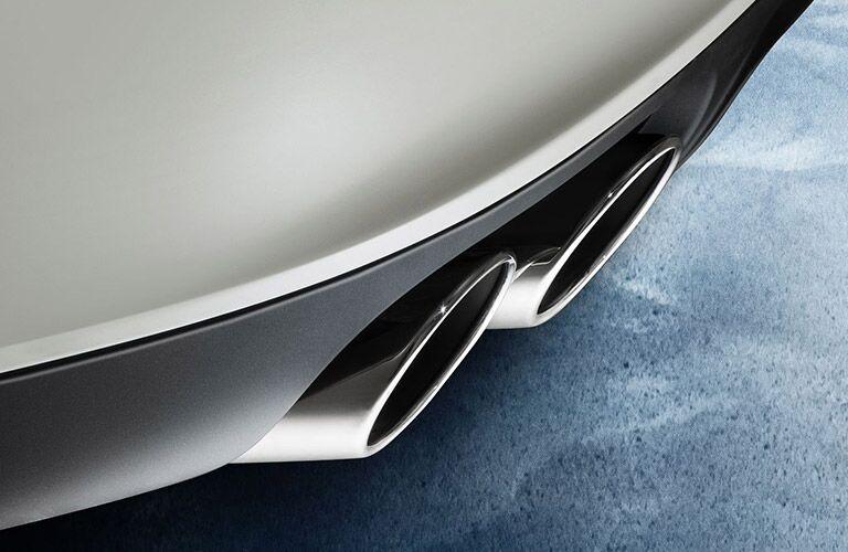 Maserati Ghibli exhaust pipe