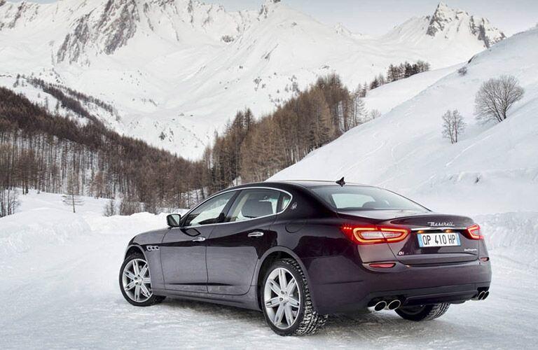 Maserati Quattroporte rear view