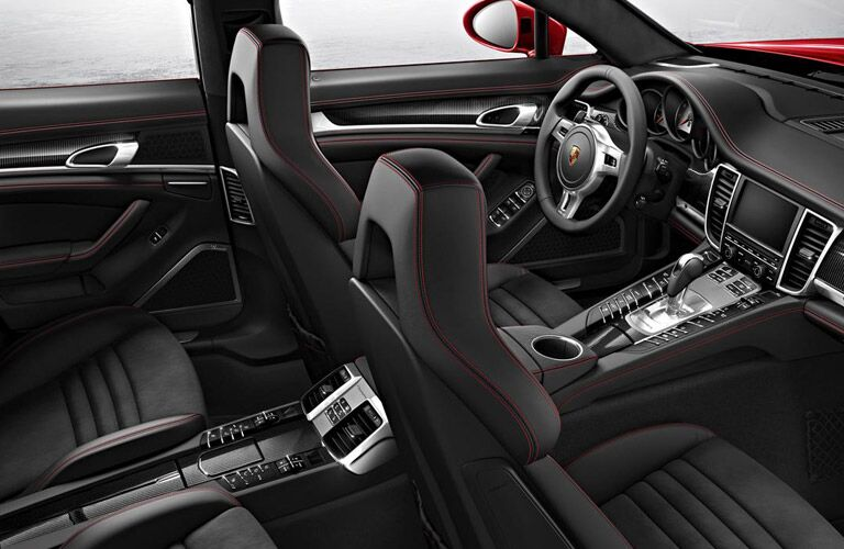 Porsche Panamera seating