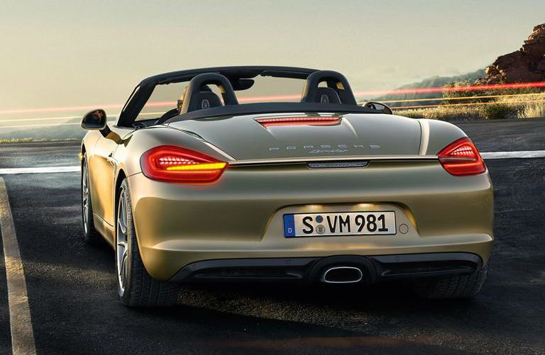 Porsche Boxster rear view