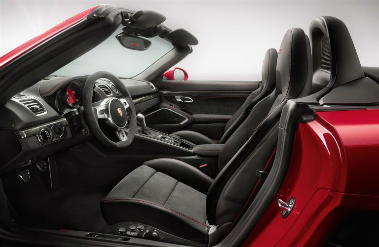 Porsche Boxster interior seating