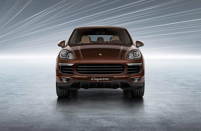 Used Porsche Cayenne front view