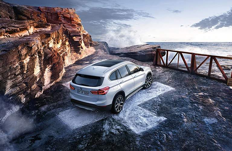 2016 BMW X1 exterior rear view