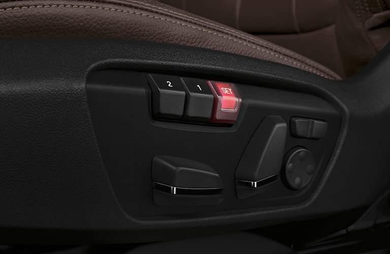 2016 BMW X1 seat settings
