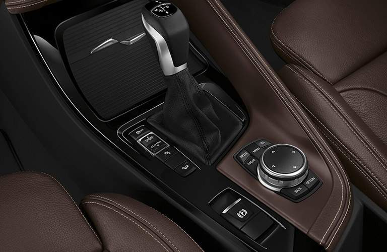 2017 BMW X1 center controls