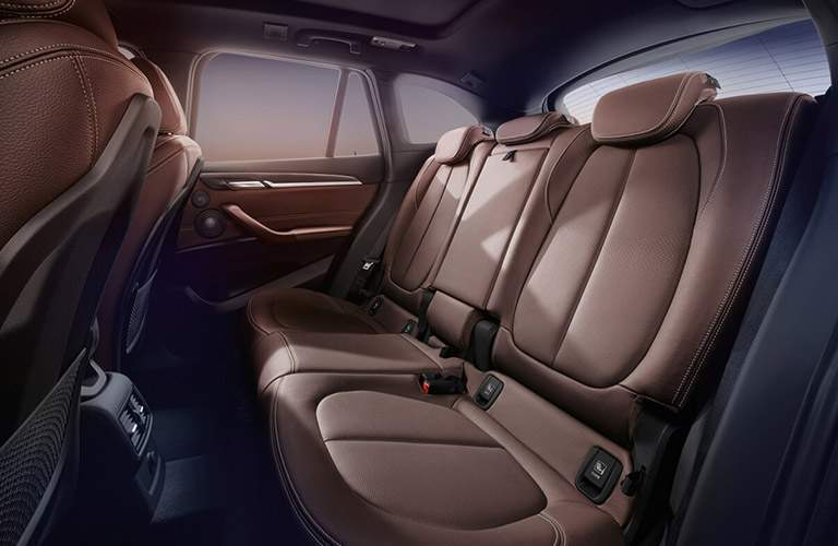 2017 BMW X1 rear seats