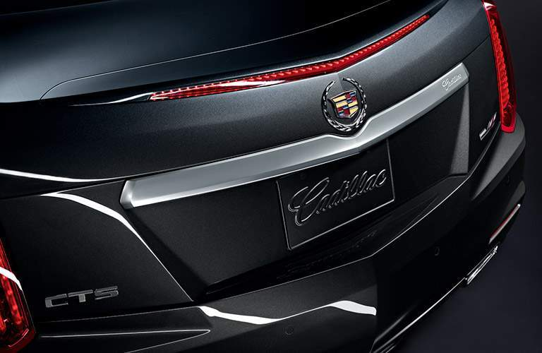 2017 Cadillac CTS rear exterior view