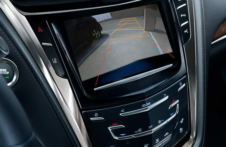 2017 Cadillac CTS rearview camera