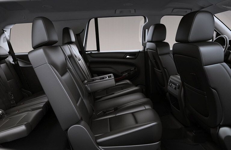 Cutaway View of 2017 GMC Yukon Passenger Interior