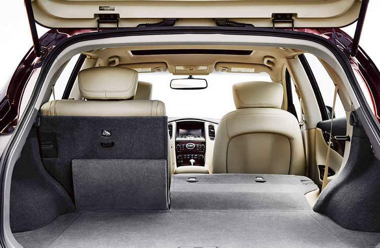 2017 Infiniti QX50 Rear Cargo Space with Seats Laid Flat