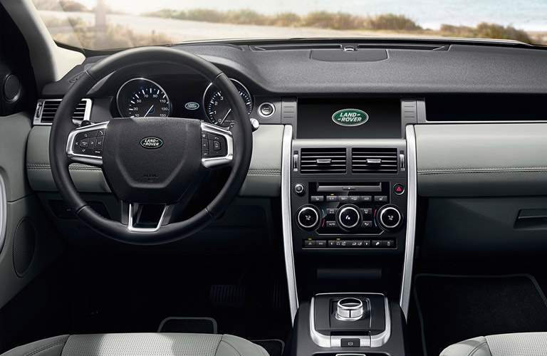 Land Rover Discovery Sport front seat