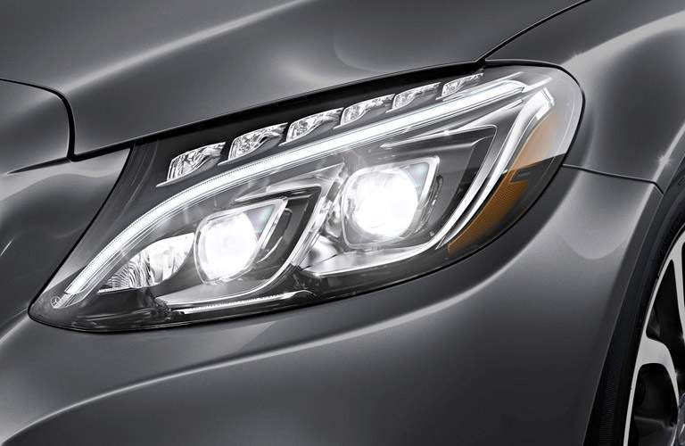 2017 Mercedes-Benz C-Class headlight