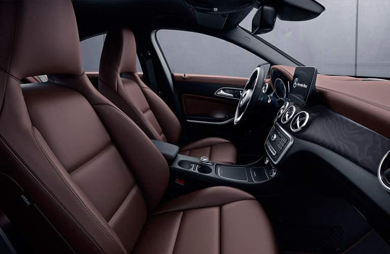 2017 Mercedes-Benz CLA interior front seat