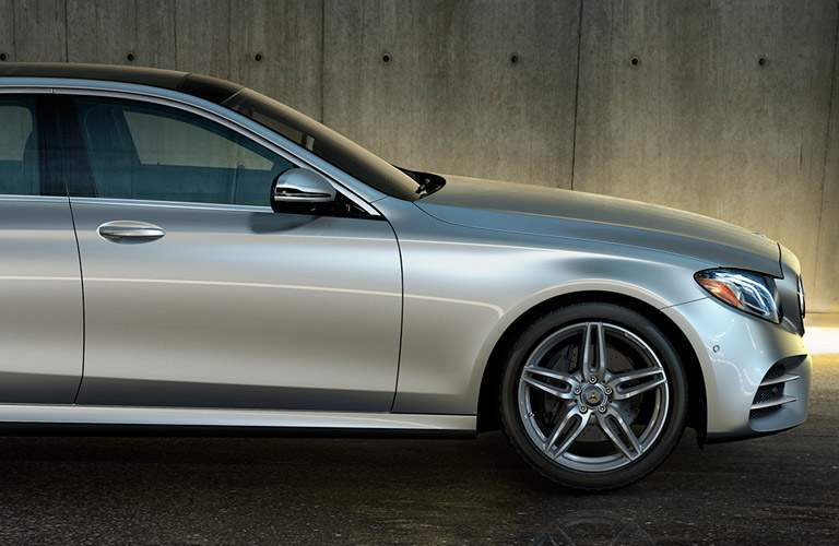 2017 Mercedes-Benz E-Class side view