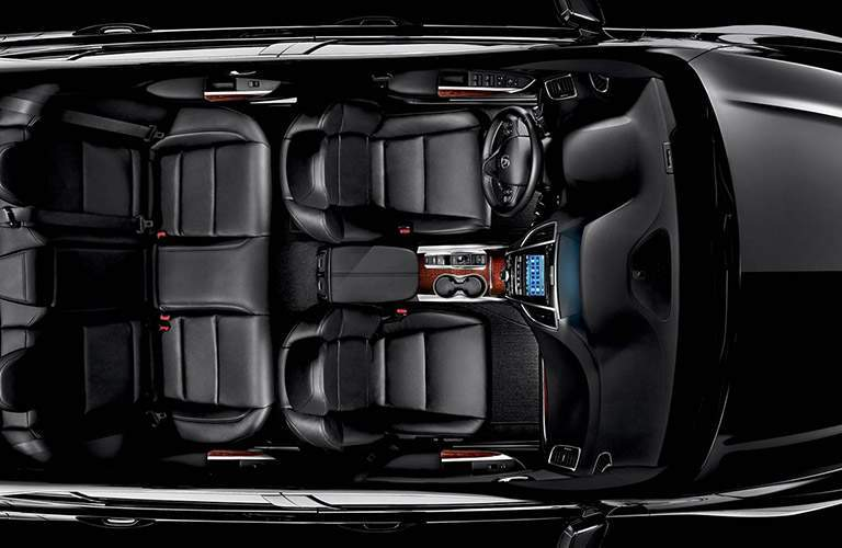 Overhead View of 2017 Acura TLX Luxury Interior