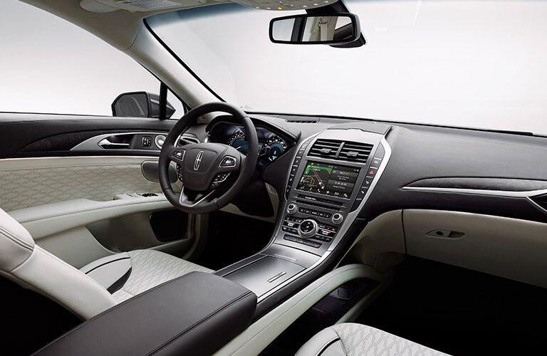 2017 Lincoln MKZ Interior Dashboard View