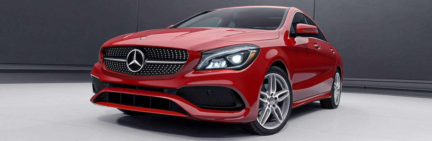 2017 Mercedes-Benz CLA model front view