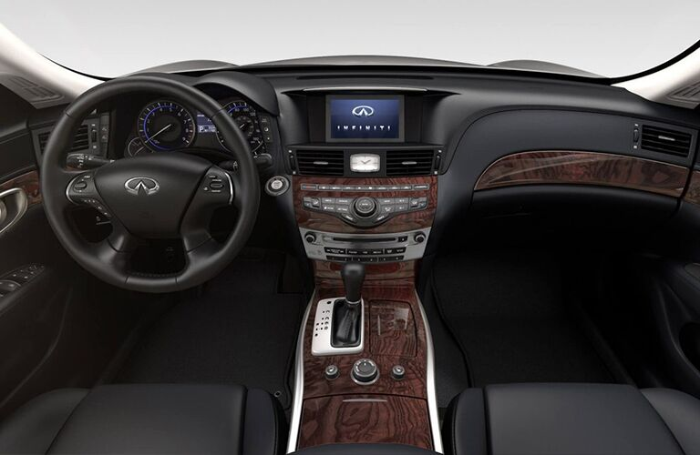2019 Infiniti Q70 Steering Wheel, Dashboard and Infotainment System
