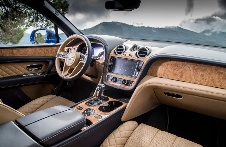 2020 Bentley Bentayga Front Interior and Dashboard