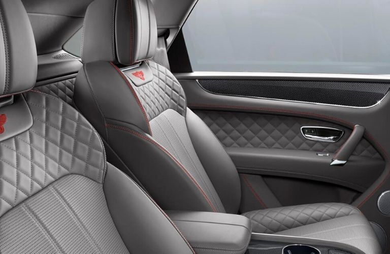 2020 Bentley Bentayga Rear Interior