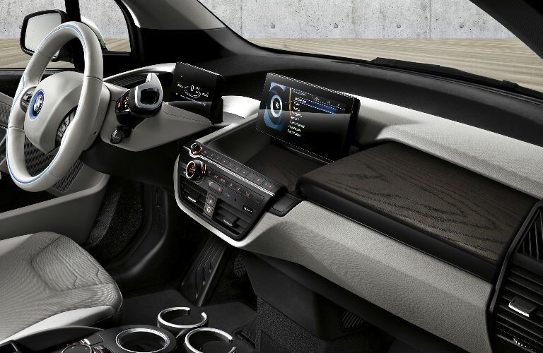 Used BMW i3 interior