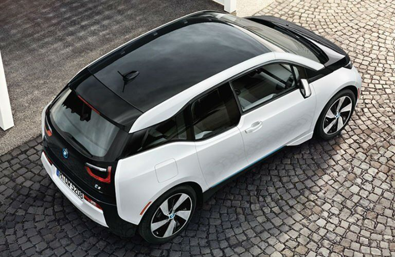 Used BMW i3 top view