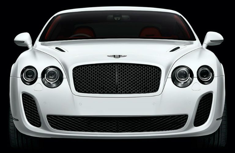 Bentley model front view