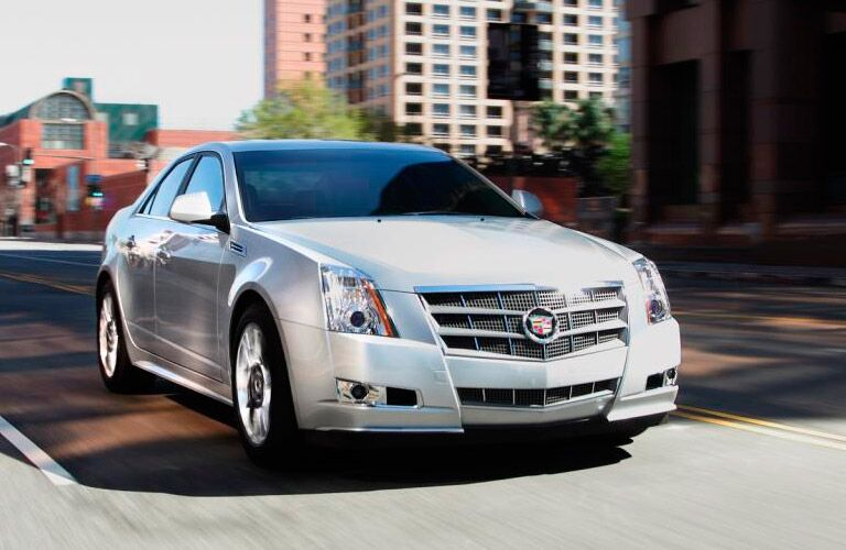 Used Cadillac CTS Dallas TX front
