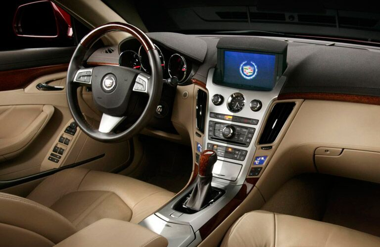 Used Cadillac CTS Dallas TX interior