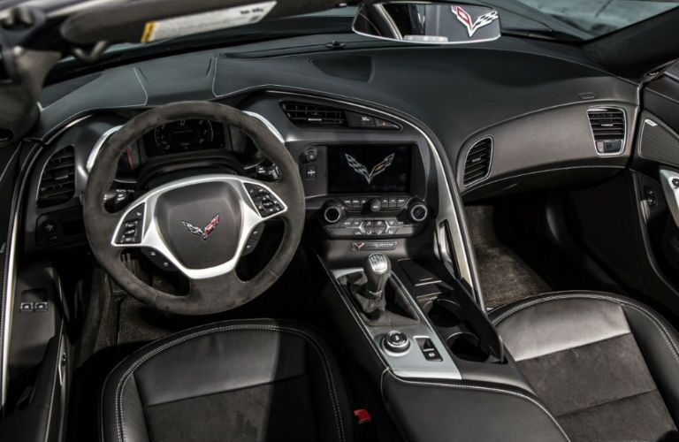 Chevrolet Corvette interior