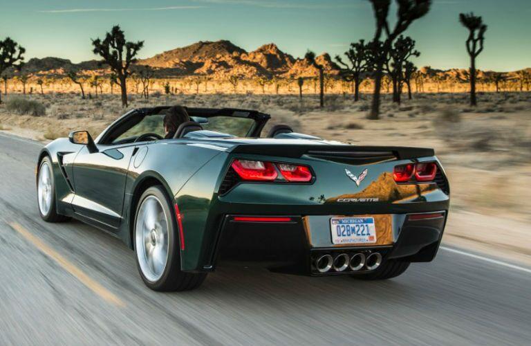 Used Chevrolet Corvette rear