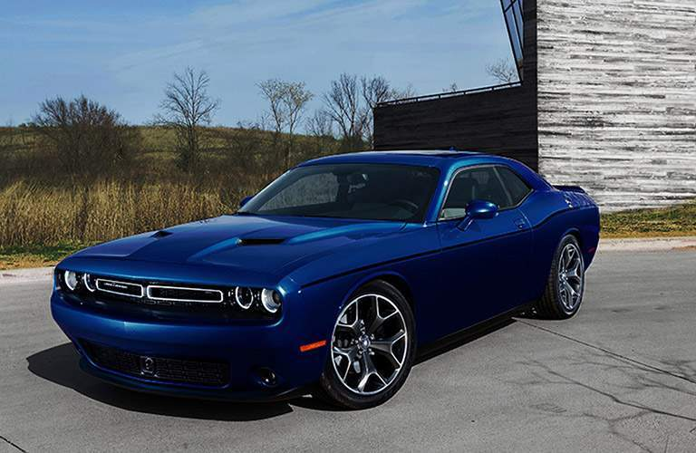 Dodge Challenger in blue