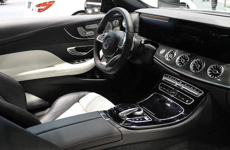 2017 Mercedes-Benz E-Class interior view