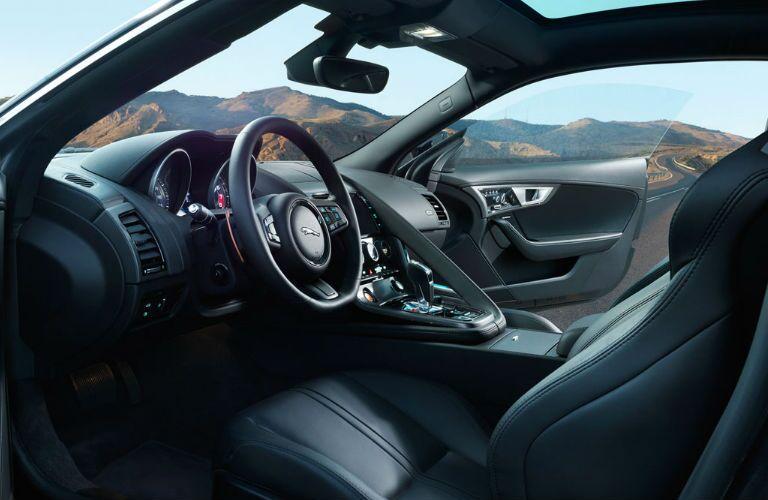 Interior of Jaguar F-Type