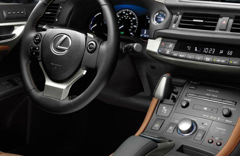 Lexus CT steering wheel