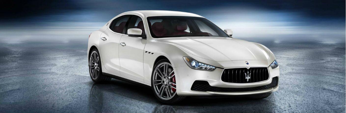 Maserati Ghibli white model