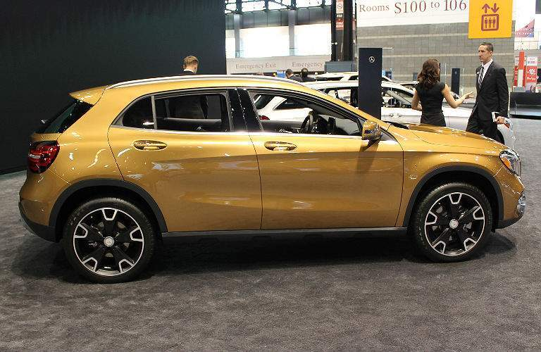 2017 Mercedes-Benz GLA at auto show